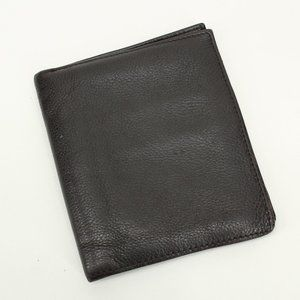 Large Dark Brown Soft Genuine Leather Wallet